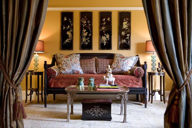 Bedroom in Apartment asian-bedroom