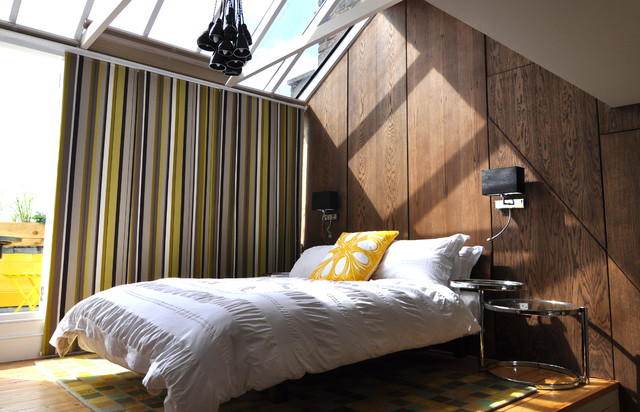 Bedroom in the sky contemporary bedroom london by for Bedroom designs london