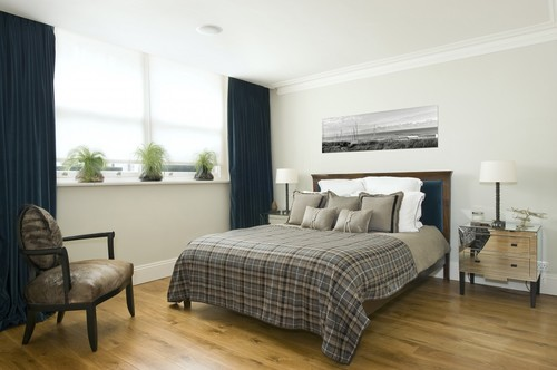 Bedroom - Interior Design - Knightsbridge, London