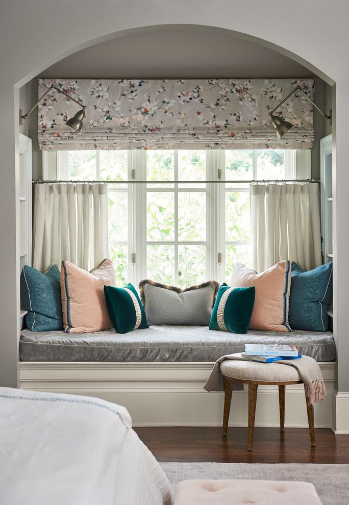 Bedroom - traditional bedroom idea in Atlanta