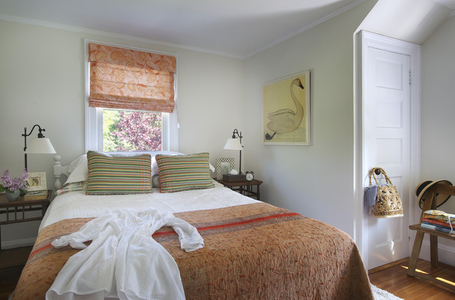 eclectic bedroom by Kate Jackson Design