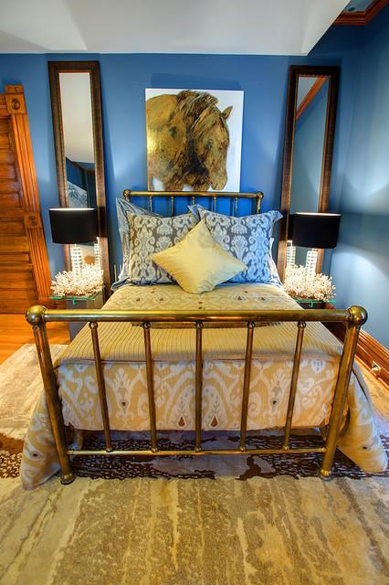 Bedroom eclectic-bedroom