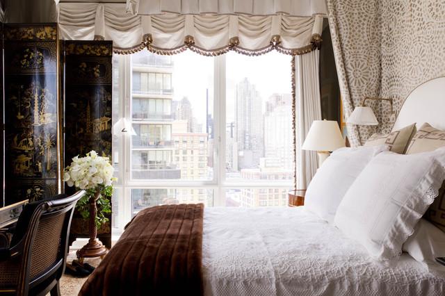 Bedroom: Mark Hampton LLC contemporary-bedroom