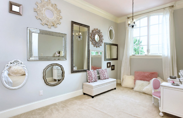 Bedroom of Mirrors - Modern - Bedroom - Raleigh - by Visual ...