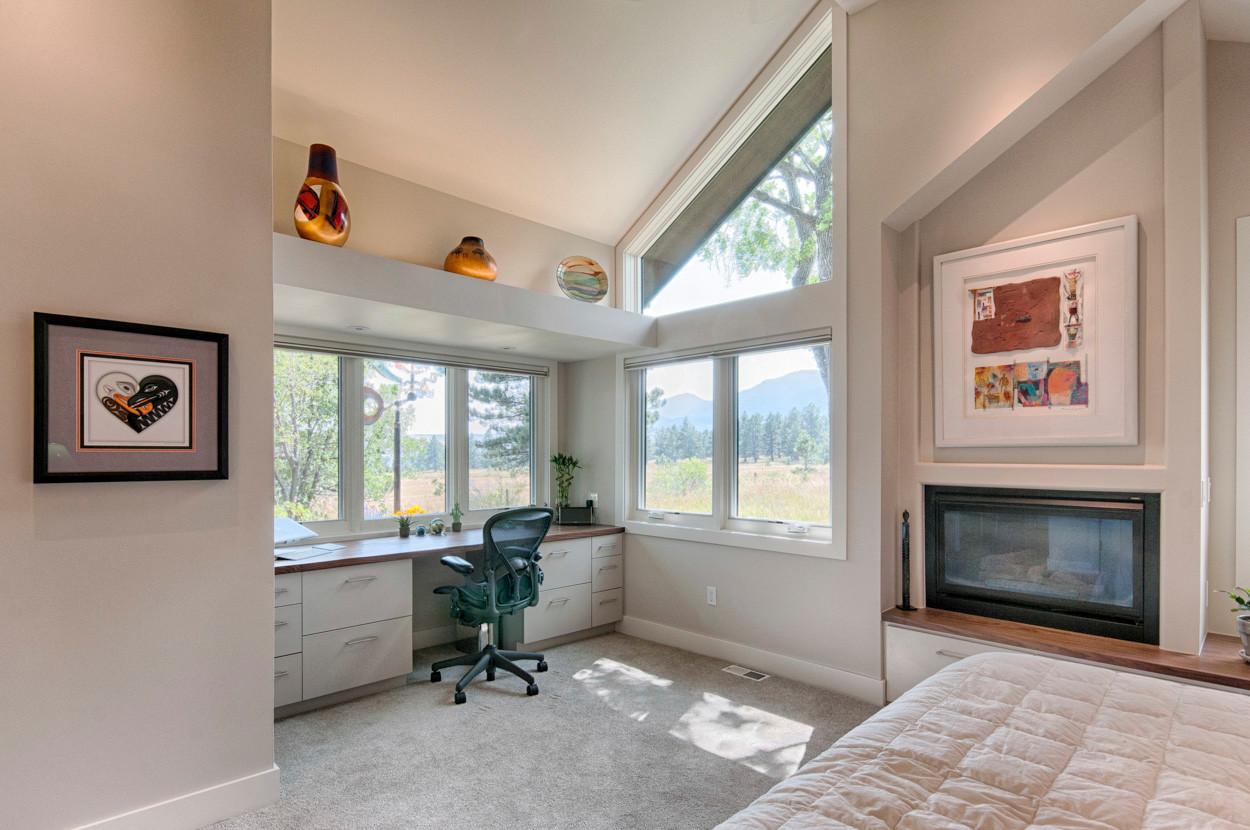 Bedroom Office Nook - After