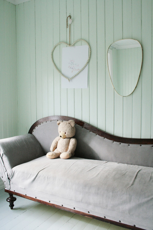 eclectic bedroom Color of the Month: Decorating with Seafoam