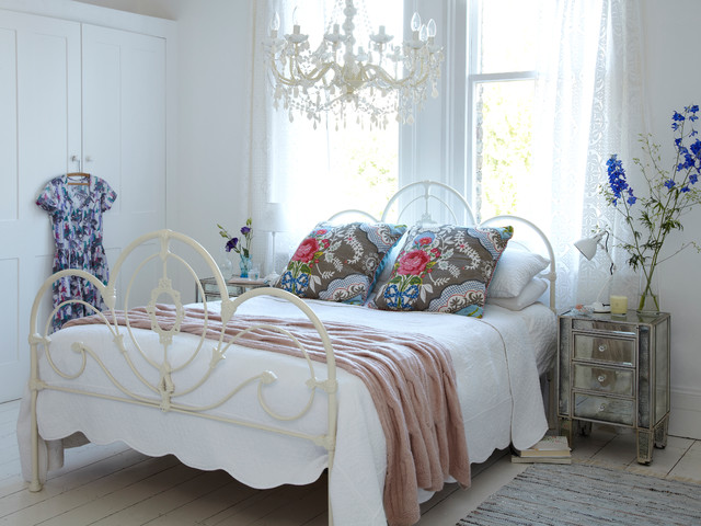 Bedroom Shabbychic Style Bedroom London By Rigby Mac Inspiration Shabby Chic Decor Bedroom
