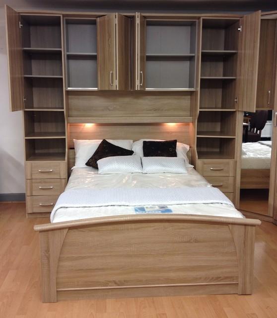 Bedroom set sonoma oak preston modern bedroom other by furniture for you Bedroom furniture preston