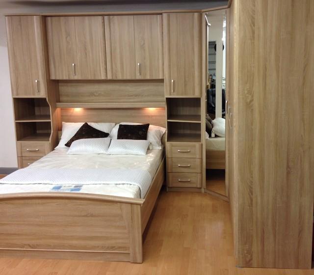Bedroom set sonoma oak preston modern bedroom north west by furniture for you Bedroom furniture preston