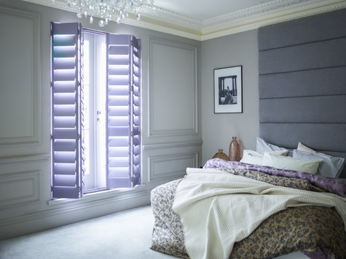 Bedroom shutter projects