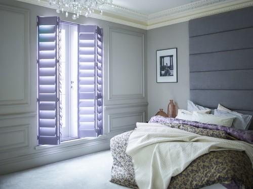 Bedroom shutter projects