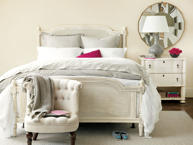 bedroom styled by real simple for ballard designs