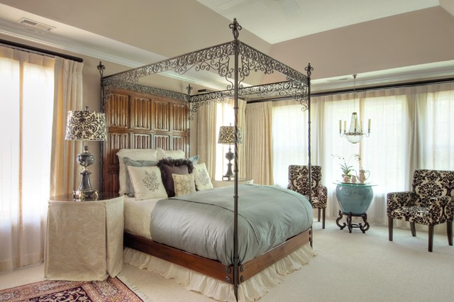 romantic bedroom suite traditional bedroom raleigh 13572 | traditional bedroom