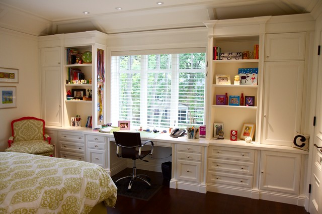 Bedroom wall unit - Traditional - Bedroom - Montreal - by ...