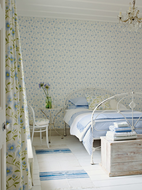 Bedroom Wallpaper Ideas Traditional Bedroom Sussex By