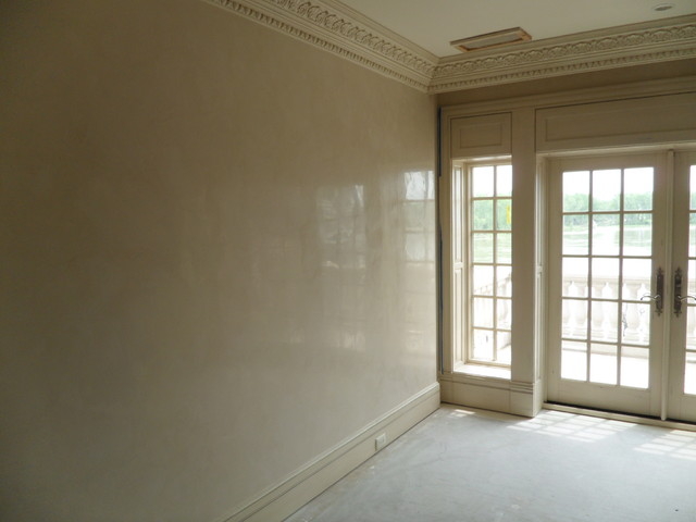 Plaster Wall Finishes : Bedroom walls italian venetian plaster bella faux