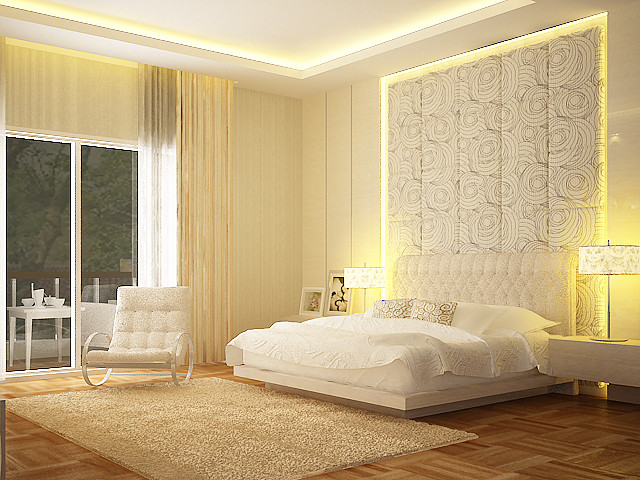 . bedroom white   Modern   Bedroom   Other   by Nathalia lani