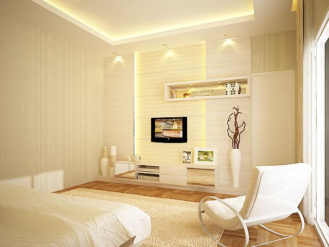 bedroom white modern-bedroom
