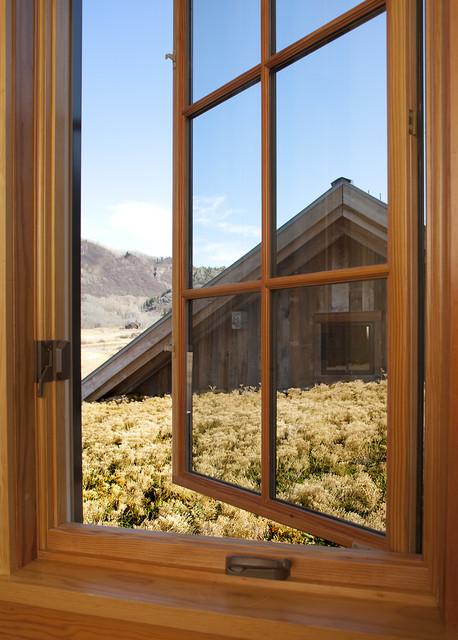 Bedroom Window rustic-bedroom