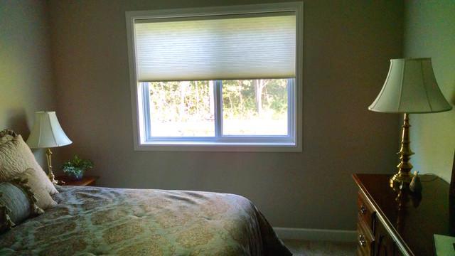 Bedroom Window Treatments Contemporary Bedroom