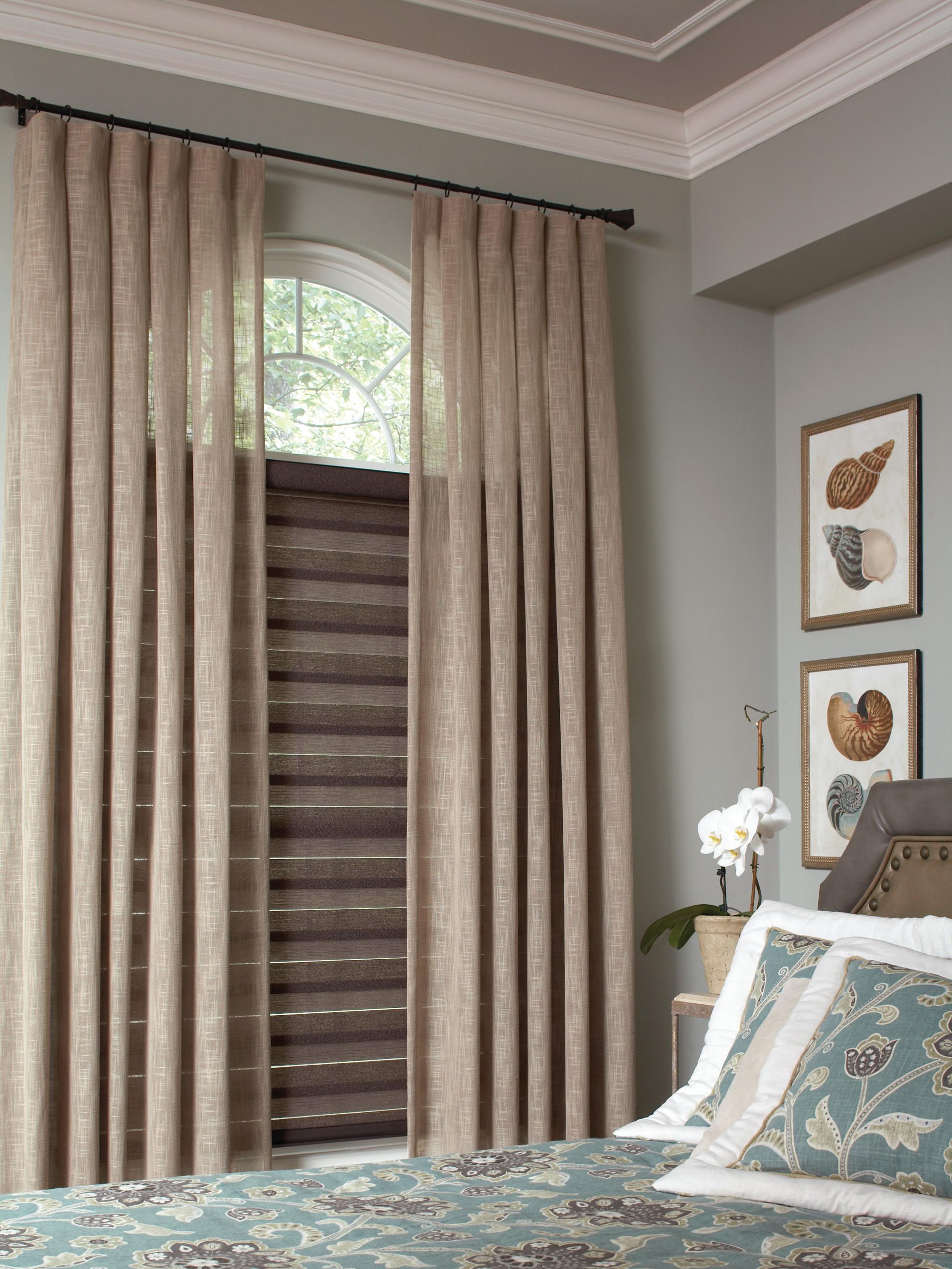 Bedroom Window Treatment Houzz