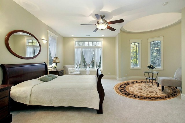 Bedroom With Oriental Rugs
