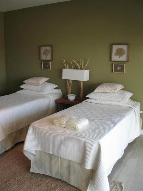 Bedrooms Aquarella Building, Punta del Este contemporary-bedroom