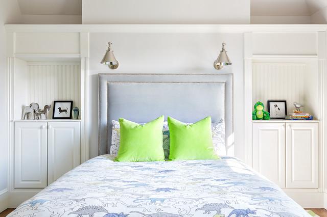 bedrooms classique chic chambre new york par clean design. Black Bedroom Furniture Sets. Home Design Ideas