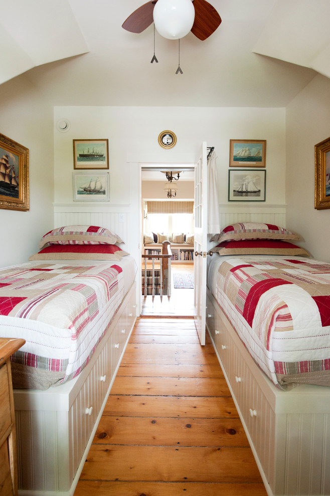 Bedroom - traditional guest bedroom idea in Other
