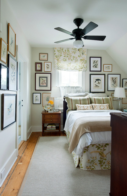 Elegant bedroom photo in Other