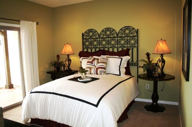 eclectic bedroom Bedrooms