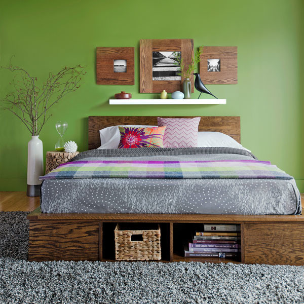 Gray And Green Bedroom Houzz