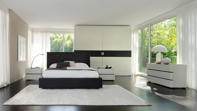 Bedrooms sma mobili moderno camera da letto venezia di michele marcon designer - Interior design camera da letto ...