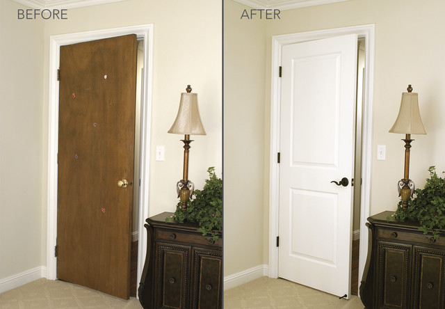 before and after transformations - modern - bedroom - sacramento