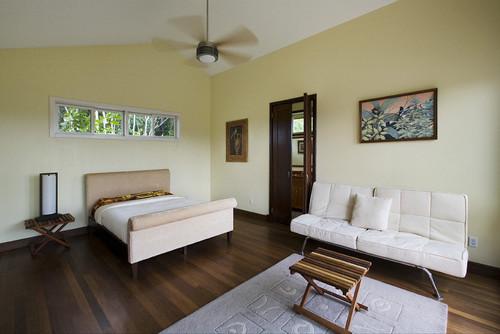 Tropical Bedroom by New York Photographers Robert Granoff