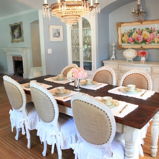 Bella French Farmhouse Dining Room