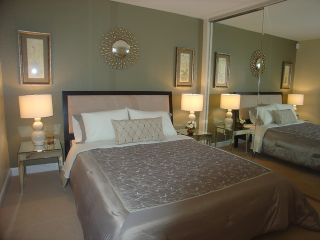 Bella Vista Condo Model Units contemporary-bedroom