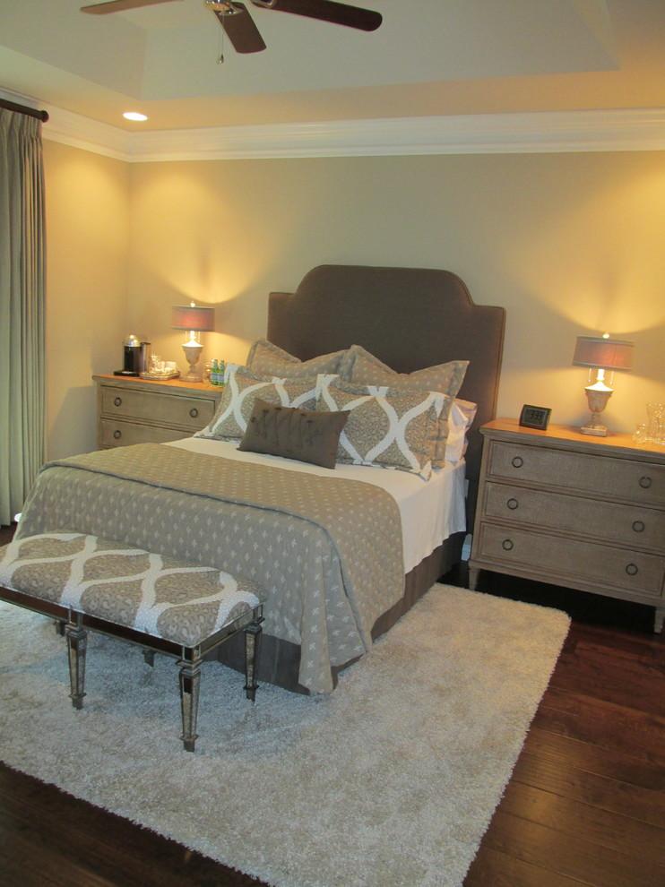Ispirazione per una camera da letto tradizionale