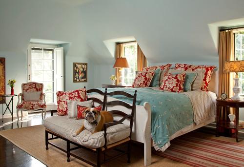 traditional bedroom by santa monica interior designers decorators