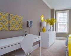 Belle Meade Court Model - Nashville, TN 37205 contemporary-bedroom