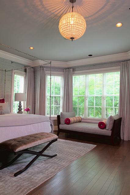 Belle meade modern home traditional bedroom for Belle bedroom ideas
