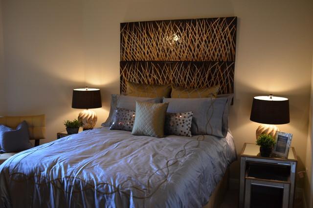 Belterra-Wellington Court Model Home contemporary-bedroom