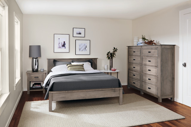 Bennett Bedroom Collection in Shell Finish by R&B - Modern ...
