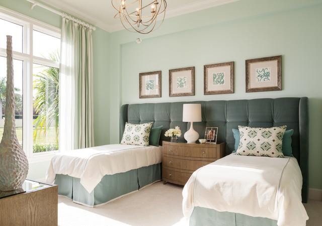 Bentley Model transitional-bedroom