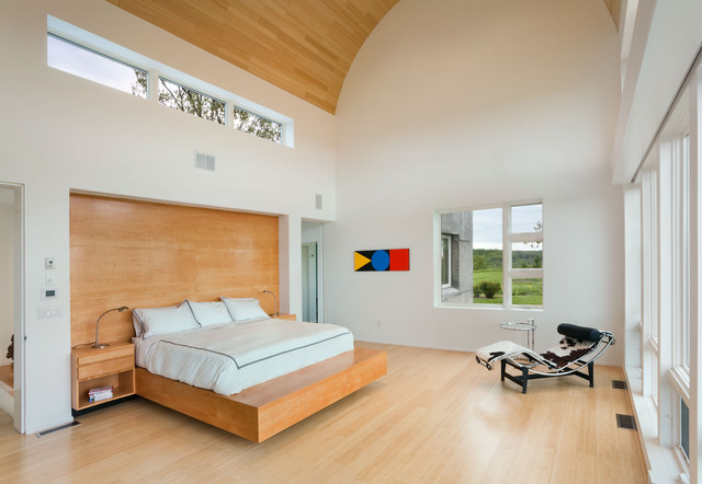 contemporary bedroom by Vanni Archive/Architectural Photography