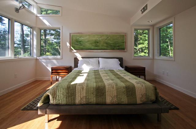 Berkshire House bedroom modern-bedroom