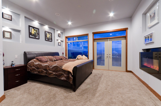 Bespoke Home on Eagle Summit contemporary-bedroom