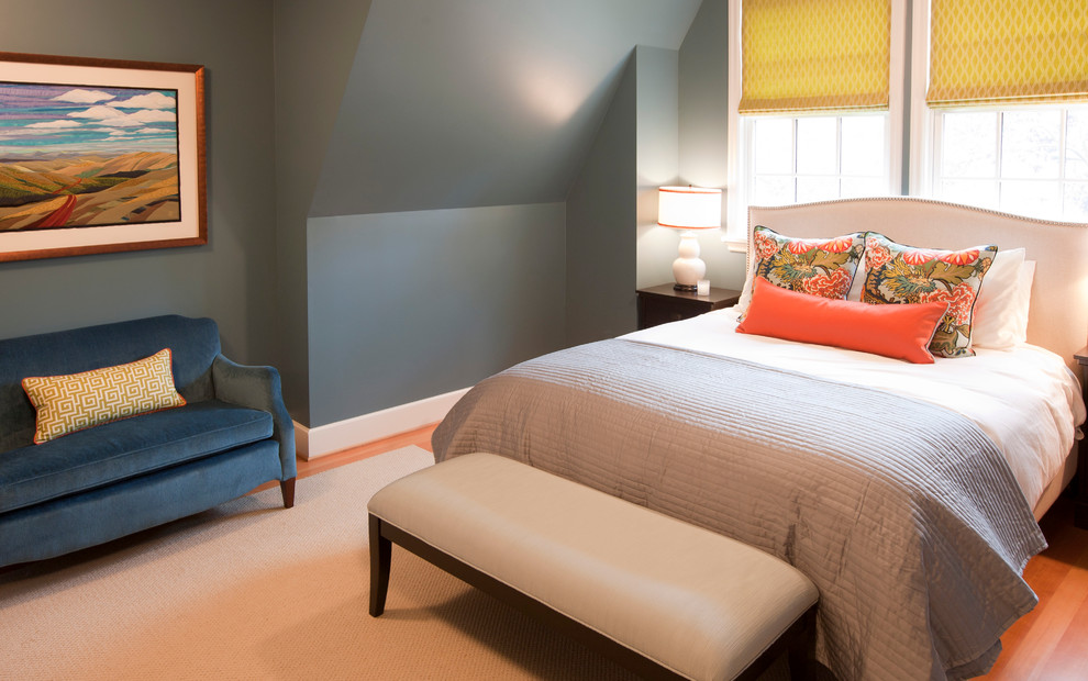 Best Blue Bedroom Traditional Bedroom Portland By Amy Troute Inspired Interior Design