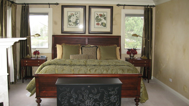 Best Staycation Spots Traditional Bedroom Chicago By Debbie Krukowski