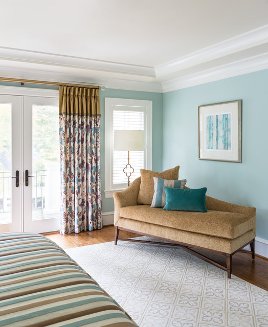 Bethesda home traditional bedroom dc metro by for Christine huve interior designs